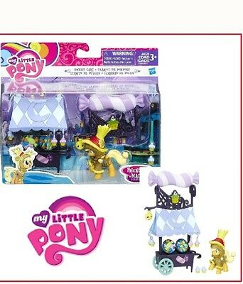 My Little Pony Friendship is Magic Collection Sweet Cart Toy With Applejack
