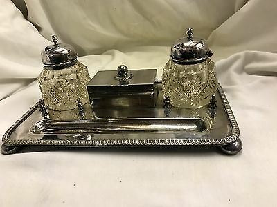 Daniel And Arter Ink Stand C1920