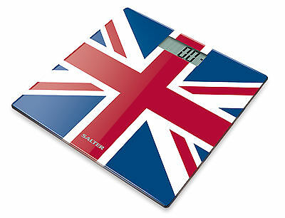 Salter Ultra Slim Electronic Digital Bathroom Scale -Union Jack 9069 UJ3R