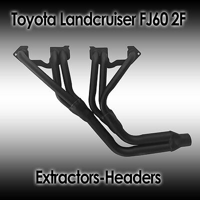 Toyota Landcruiser FJ60 2F, 6cyl Petrol, Headers/Extractors, New, Free Delivery
