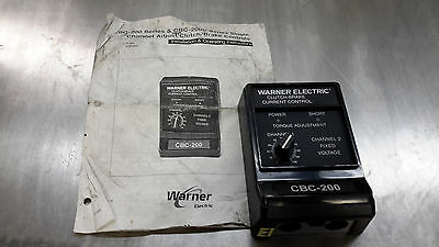 Warner Electric CBC-200 Clutch Brake Current Control Box
