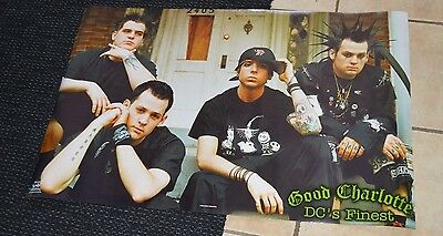 *2002 Good Charlotte Funky Poster - Dc's Finest - #6579 Excellent Condition!*