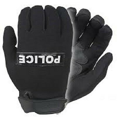 "NEW, Damascus Gear Nexstar I Lightweight Police Gloves, w/Reflective ""POLICE"""