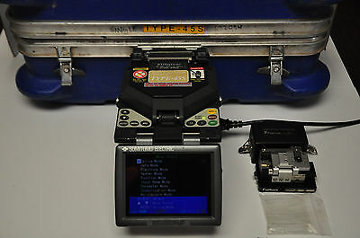 Sumitomo Type 45S SM&MM Fiber Fusion Splicer * Fully Calibrated and Tested*