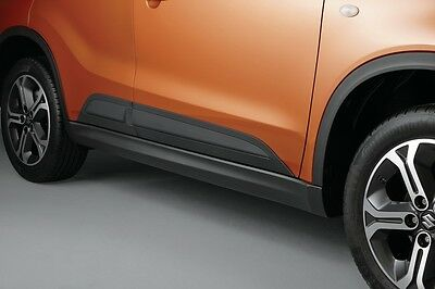 NEW Genuine Suzuki VITARA Side Body Mouldings Trim Set RUGGED BLACK 990E0-54P07