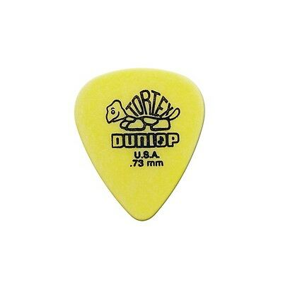 Dunlop 418-P-73 Tortex kit 12 plettri in nylon per chitarra 0,73mm