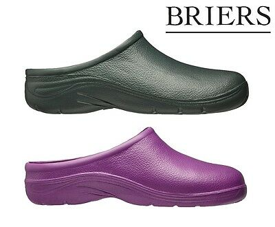 Briers Garden Clog Purple/Green Free Delivery Multiple Sizes