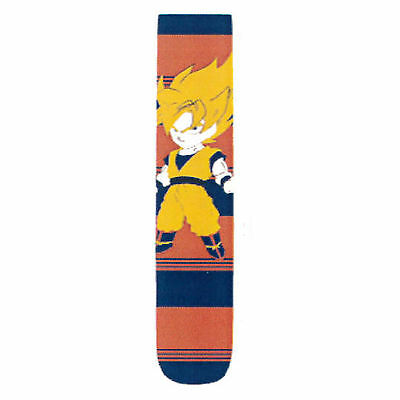 Dragon Ball Z Chibi Super Saiyan Goku 1 Pair Of Crew Socks NEW DBZ Clothing