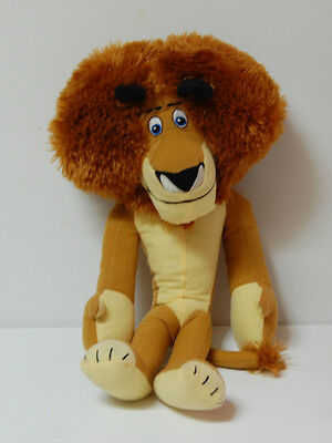 "Alex the Lion 14"" Plush Madagascar 3 Toy Factory Stuffed Animal"
