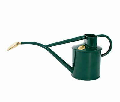 Haws      |  Metal Indoor Watering Can in Gift Box 1 Litre - Green