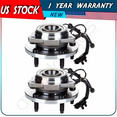 Pair Front Left Or Right Wheel Hub Bearing Assembly Fits Jeep Wrangler 07-14 ABS