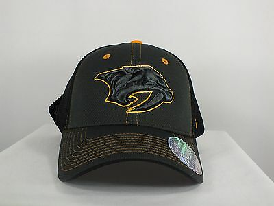 Nashville Predators Ncaa (M/l, Small) Flex/fitted Cap By Zephyr (H134)