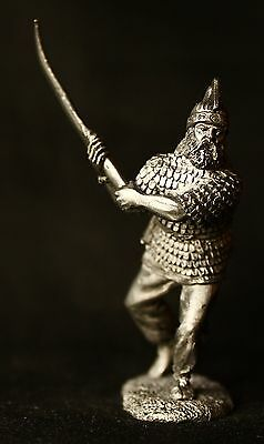 """#M274 54mm 14 cent./"""" 1//32 Tin toy metal soldier /""""Russian warrior"""