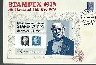 1979. Stampex 1979 Exhibition  Cover.
