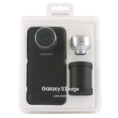 Brand New, Retail Samsung Galaxy S7 EDGE Lens Cover w/ Telephoto & Wide-Angle