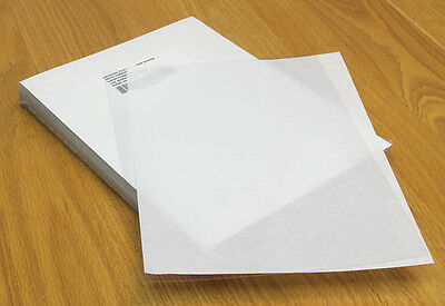 Clear Plastic Binding Covers, 8.5 x 11 Inches, Square Corners, 100 Covers