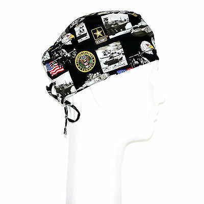 US Army Theme Scrub Hat