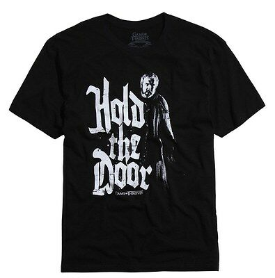 Game Of Thrones HODOR HOLD THE DOOR T-Shirt NWT Licensed & Official