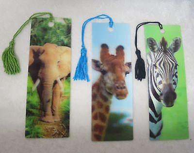 3D bookmarks- 8 to choose from
