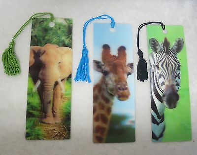 D bookmarks- 7 to choose from
