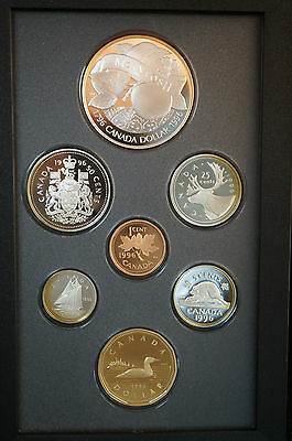 2 pc lot of 1996 CANADIAN PROOF SETS