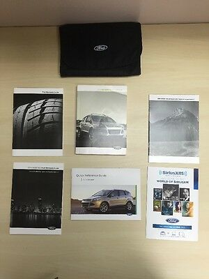 Ford Escape 2014 Owners Manual Book Set  / In Case //