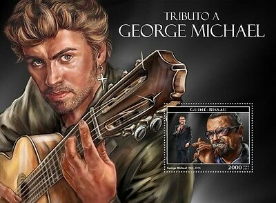 Z08 IMPERFORATED GB17210b GUINEA-BISSAU 2017 George Michael MNH ** Postfrisch