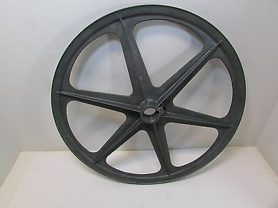 "Die-Cast 12"" Dia Single  Groove Pulley Bore Size 7/8"""