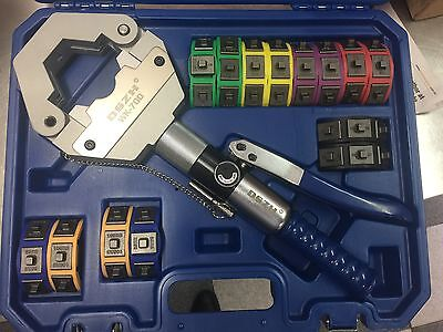 Hydraulic  Hose  Charging Compressing Crimping Clamp  Tool Kit  Wk700