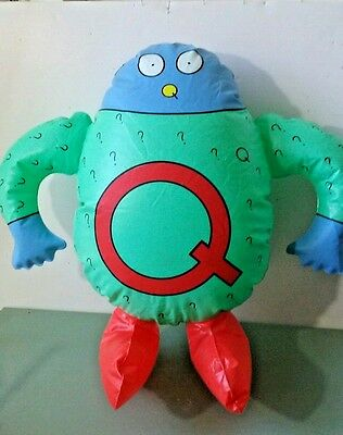 The Letter People vintage Q inflatable letter Person Educational Learning