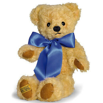 Merrythought London Classic Curly Gold Teddy Bear - 25cm / 10 inches - GM10CG