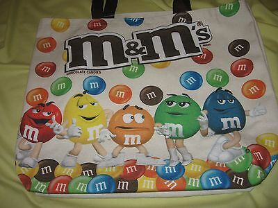 ~*~M&M Characters canvas tote bag~Large~Fantastic condition~*~