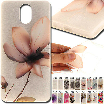 For Lenovo Vibe P1m Cute Protective  Painted Clear Cover Soft TPU Back Skin Case