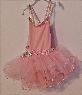 Wonchoice Ballet Tutu Toddler Girls Pink Size Small (Size 2/3)
