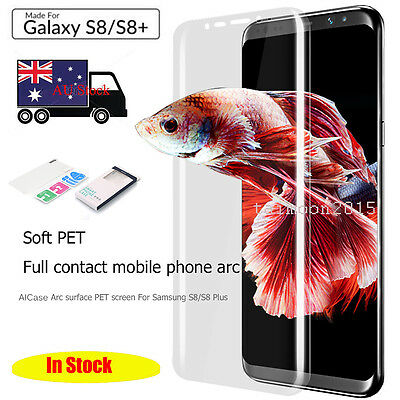 Genuine AICASE 3D Full Coverage Screen Protector Film for Samsung Galaxy S8 Plus