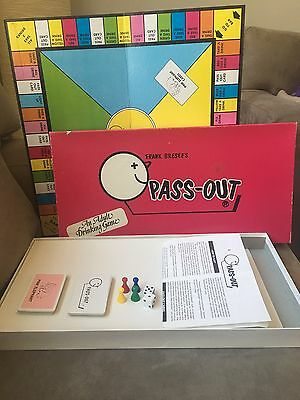 Retro 1986 - Frank Bresee's Pass-Out Drinking Board Game - COMPLETE