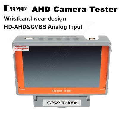 "EYOYO 5"" Wrist 1080P AHD CCTV Cam Test Display Monitor Tester DC 12V-Output HQ"