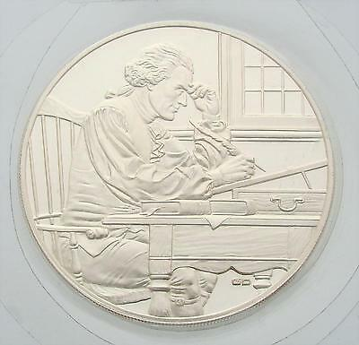 1976 United States Sterling Silver Medal, Independence, Coin, Proof, UNC