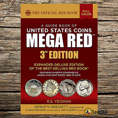 2018 The Official Red Book of United States Coins  DELUXE MEGA RED