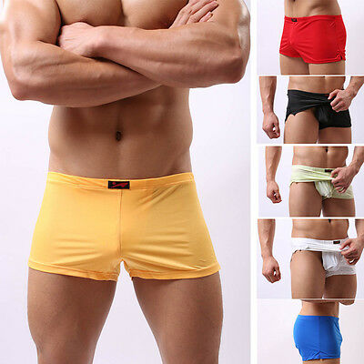 2017 Trunks Underwear Men's Boxer Briefs Soft Shorts Bulge Pouch Underpants Hot