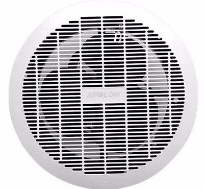 Airflow EXHAUST CEILING FAN CE200 200mm 30W 240V, Max Flow Rate 72L/s, White