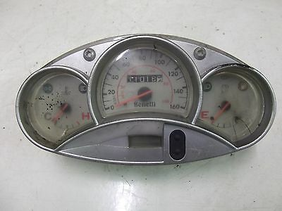 Benelli Velvet 125Cc 2002 Scooter Clocks Speedo Instrument Panel 11018 Km