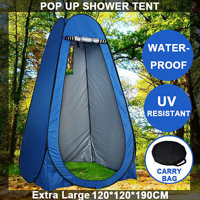 Pop Up Portable Camping Shower Toilet Tent Outdoor Privacy Change Room Shelter