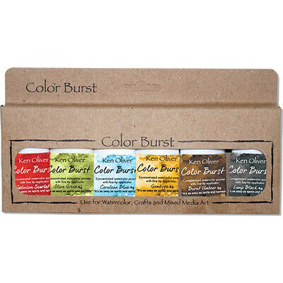 Ken Oliver KNCPW6-7069  Color Burst Powder 6/Pkg-Moroccan