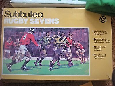 RARE SUBBUTEO Rugby Sevens 7's Set Complete Lot 1