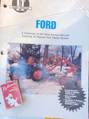 fordson   22  different  tractors..... manual