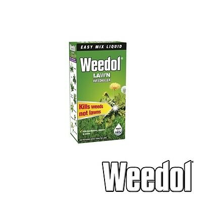 Weedol Lawn Weedkiller 250ml Free Delivery Kill Weed Verdone Liquid Concentrate