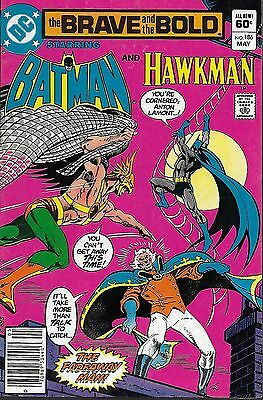 DC (1982) THE BRAVE AND THE BOLD #186: Batman & Hawkman - 4.5 VG+