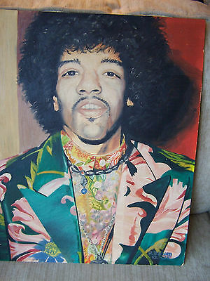 1974 Jimmy Hendrix Oil Painting