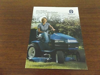 NEW HOLLAND Lawn & Garden Products Literature-#31185551